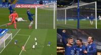 Chelsea abrió el marcador en Londres ante Real Madrid.