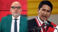 Beto Ortiz utilizó sus redes sociales para responder a Vladimir Cerrón, líder de Perú  Libre.
