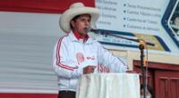 Pedro Castillo, candidato a la presidencia de la República.