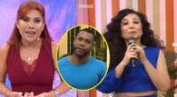 Magaly Medina molesta por comentario discriminatorio de Janet Barboza a 'Giselo'