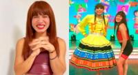 """La Uchulú se hizo conocida por un llamativo TikTok que realizó de la canción """"No sé"""" de Explosión de Iquitos"""