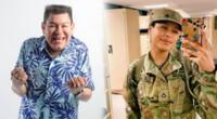 """Dilbert Aguilar feliz porque su hija ingresó al ejército de EE.UU.: """"Me llena de mucho orgullo"""""""
