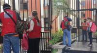 Ministerio de la Mujer acudió a condominio de mujer asesinada por su pareja en San Borja.