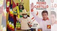 Pedro Castillo firmó compromisos tras recibir el apoyo de Verónika Mendoza.