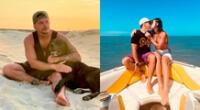 El chico reality Mario Hart contó que extraña mucho a la modelo y a la pequeña Lara, quienes siguen en Brasil.