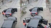 Hampones habrían realizado marcaje al dueño del vehículo antes de cometer el robo.