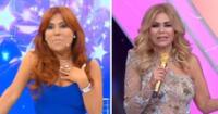 Magaly Medina opinó del rating del programa de Gisela Valcárcel.