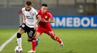 Sport Huancayo no pudo ante Corinthians en el Nacional de Lima.
