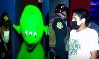Intervienen a 30 personas en un bar clandestino, entre ellos una persona disfrazada de marciano