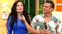 Christian Domínguez afirma que no tiene problemas con su compañera de 'América Hoy', Janet Barboza.