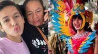 """La Uchulú contenta porque su mami llegó a Lima: """"El amor de mi vida"""""""
