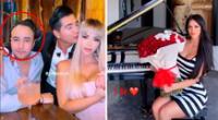 Sheyla Rojas celebró su primer mes con su novio mexicano.