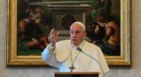 Papa Francisco envía un mensaje a los colombianos