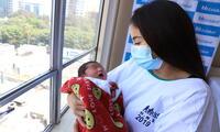 Antonella Durand tuvo complicaciones antes del parto, pero todo salió, felizmente, bien.