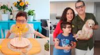 Connie Chaparro celebra los 10 años de su hijo.