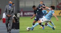 Sporting Cristal fue superado por Racing Club en el Estadio Nacional y se despidió de la Copa Libertadores 2021.