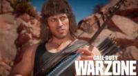 Rambo en Call of Duty Warzone
