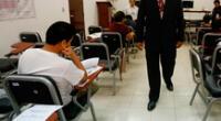 25 universidades públicas si lograron convocar a una prueba de ingreso.