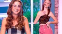 La chica reality Ducelia Echevarria estuvo en EBT junto a su hermana Dulecia y su mamá Edith.
