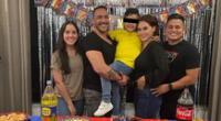 Génesis Tapia se emocionó al mostrar a sus redes sociales la gran relación que lleva con su ex Marco Espinoza por el bien de su hijo Jazael.
