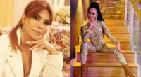 Magaly Medina molesta con vocalista de Explosión de Iquitos.
