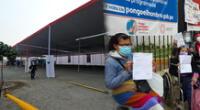 Los pacientes denunciaron descordinación en centros médicos de SJL.