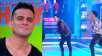 El cantante Christian Domínguez felicitó al nuevo grupo y confía que tendrán éxito.