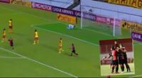 Bernardo Cuesta puso el 1-0 para Melgar sobre Aucas con espectacular gol.