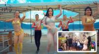 """Linda Caba tras videos de Explosión de Iquitos en 'privaditos': """"Son del año pasado"""""""