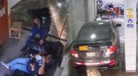 Roban auto de un carwash en SJM.