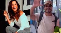 María Pía Copello se mostró emocionada al encontrarse con Ernesto Jiménez en Miami, sin darse cuenta que ya se habían visto en Perú anteriormente.