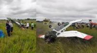 Avioneta se despista al aterrizar en aeropuerto de Pucallpa.