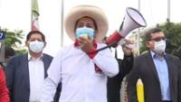 Pedro Castillo anuncia el plan de gobierno a 100 días