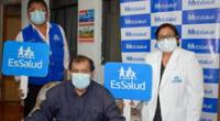 Trabajador de EsSalud vence a la covid-19