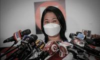 Keiko Fujimori participará vía virtual en evento