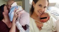 La actriz Emilia Drago confesó que buscó ayuda profesional tras el nacimiento de su hija Lara, y que ahora se siente más tranquila.