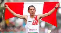 Christian Pacheco trabaja para alcanzar mejores tiempos en Tokio 2020.