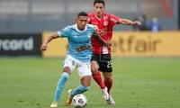 Christofer Gonzales fue uno de los mejores jugadores de Cristal en la victoria 2-0 ante Rentista