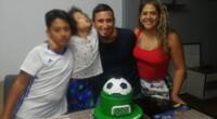 Manuel Tejada vive una etapa muy feliz con su familia.
