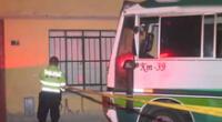 Conductor de cúster fue asesinado en Ancón.