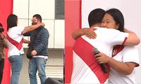 70% de la población no cree en la reconciliación entre Kenji y Keiko Fujimori