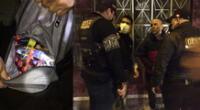 Facinerosos fueron capturados con los productos robados de la tienda de abarrotes.