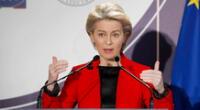 La medida fue anunciada por la presidenta de la Comisión Europea, Ursula von der Leyen, durante una cumbre mundial de salud en Roma.