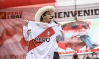 Pedro Castillo estuvo en Manchay como parte de su campaña política.