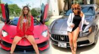 Magaly Medina lo da todo en Miami y pasea al ritmo de 'Makinon' de Karol G [VIDEO]