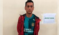 Jimmy Henry Carranza Mendoza, de 46 años de edad, se encontraba prófugo de la justicia