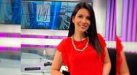 La periodista Angélica Valdés utilizó su cuenta de Twitter para aclarar que ella siempre acude a fuentes oficiales.