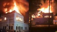 Colombia: reportan incendió en el Palacio de Justicia de Tuluá y deja graves daños materiales.