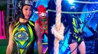 La chica reality Melissa Loza venció a su hermana Tepha Loza en reto de altura en Esto es guerra.