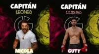 Guerreros México de Televisa anunció oficialmente a Nicola Porcella como líder de Los Leones y a Guty Carrera al mando de Las Cobras.